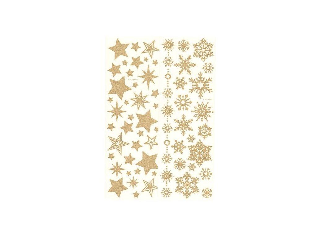 Obtisky na svíčky - Hvězdy a vločky