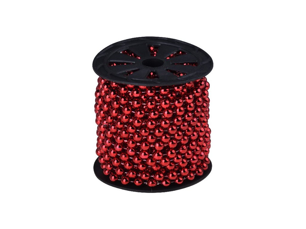 Řetěz perly na cívce 8mm