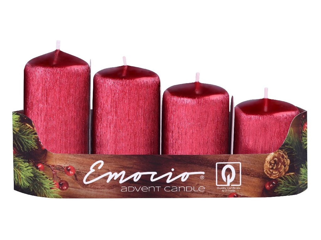 Svíčky EMOCIO stupně, Drápané