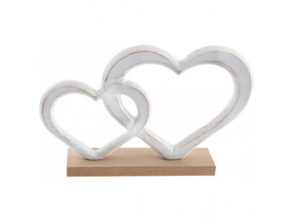 Dřevěná srdce