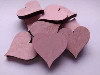 Barevné srdce 30mm