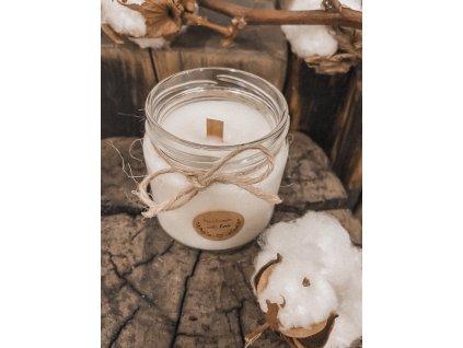 Čistá bavlna dřevěný knot