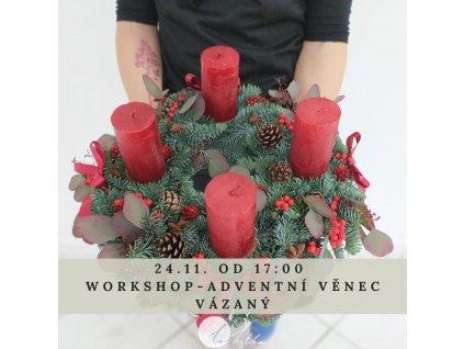 Adventní workshop v Plzni