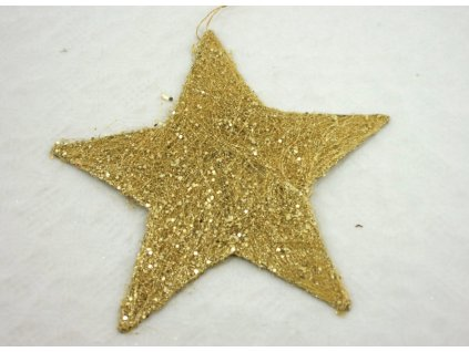 Hvězda 29 cm, mix barev