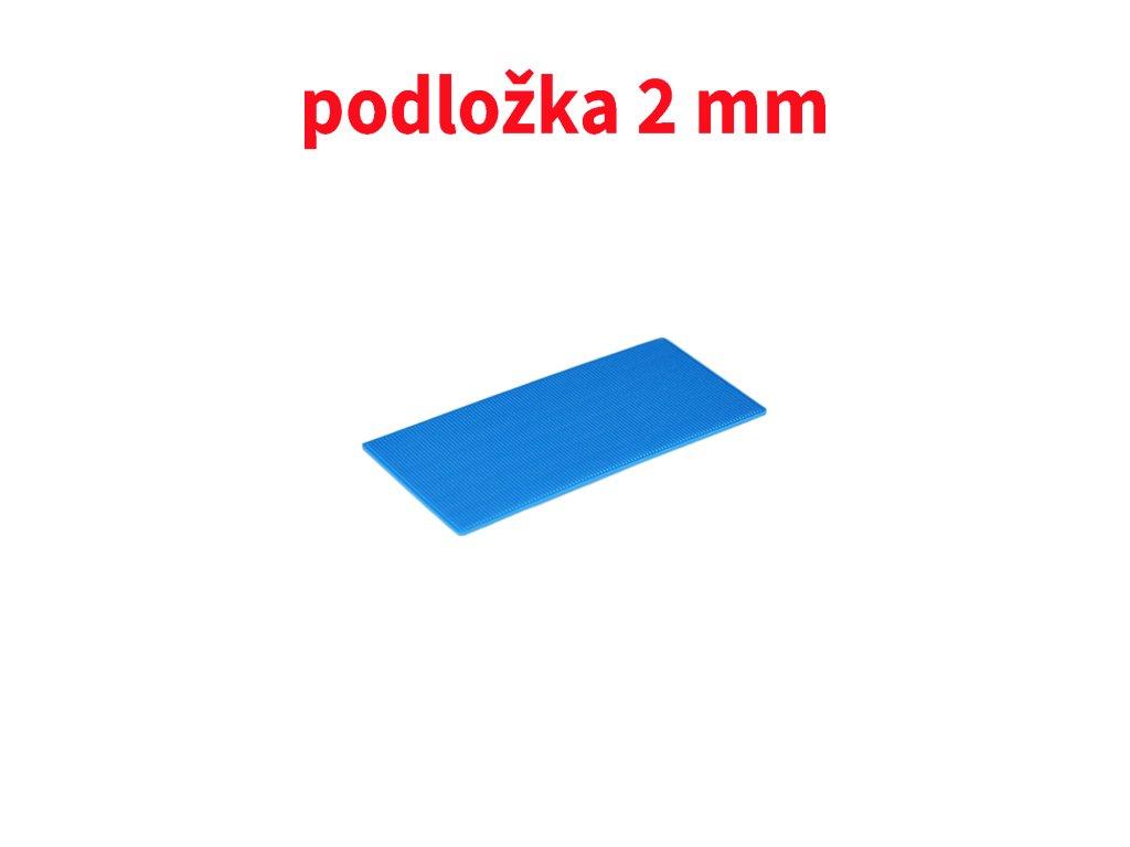 podložka 2 mm