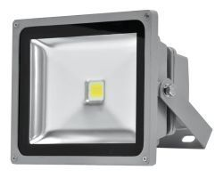 Stříbrný LED halogen