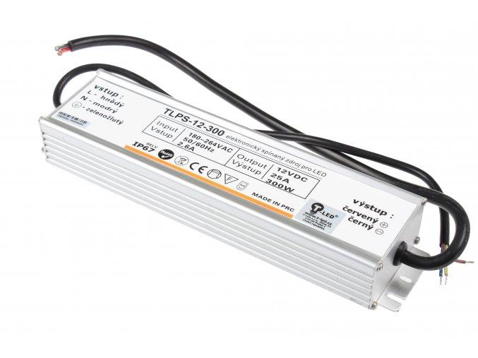 LED zdroj (trafo) 12V 300W IP67 SLIM