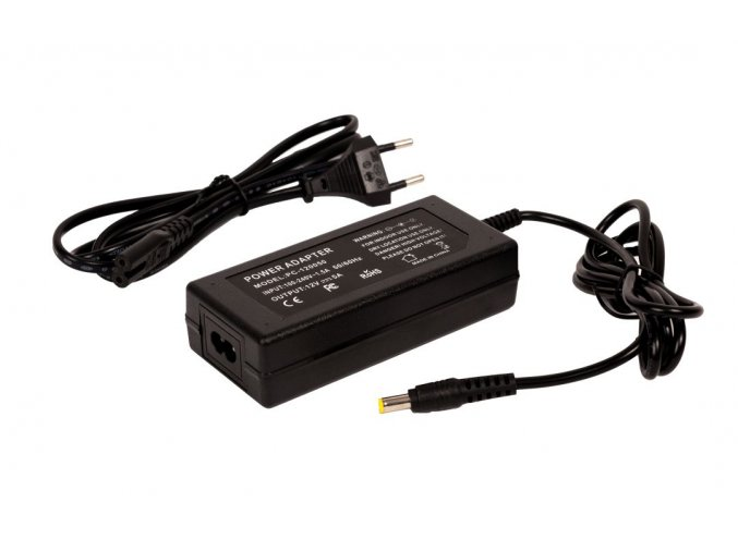 LED zásuvkový zdroj (trafo) 12V 60W