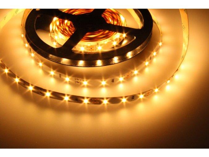 LED pásek 4,8W/m bez krytí