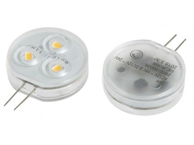 LED žárovka 2W G4 12-24V