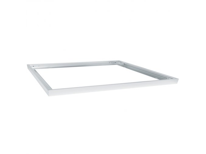 66216 4 stribrny ramecek pro led panel 600 x 600mm