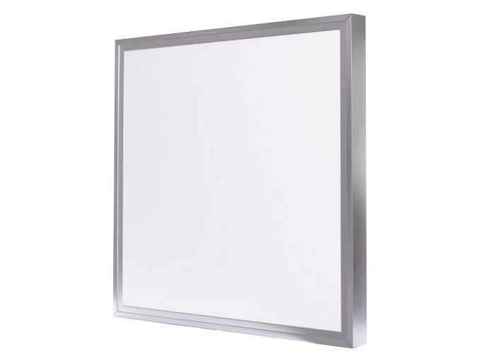 led panel stribrny 600x600mm s rameckem