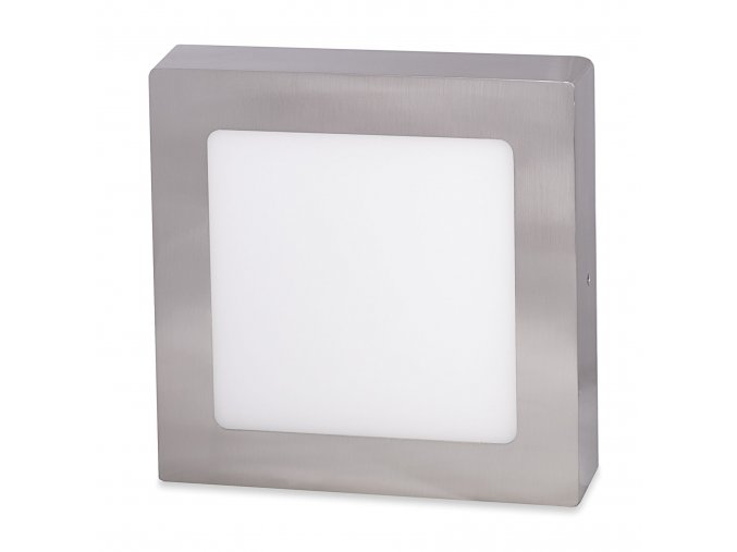 stribrny prisazeny led panel 175 x 175mm