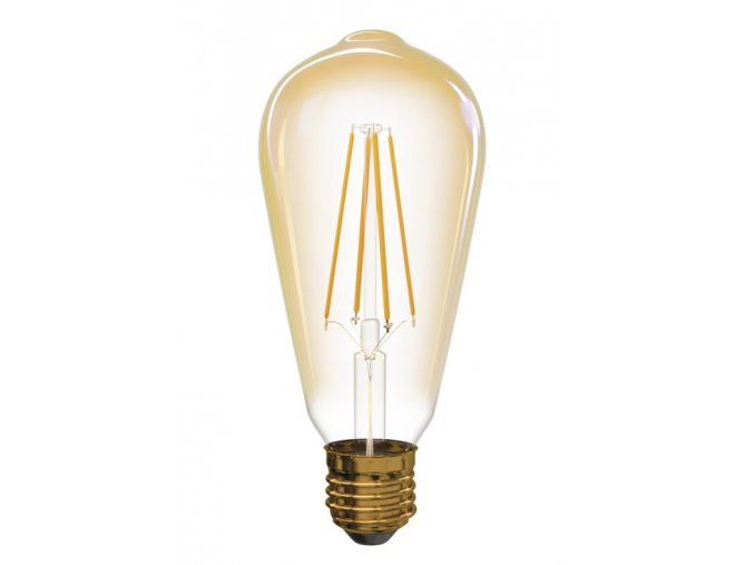 67305 4 led zarovka filament 4w e27 ovalna