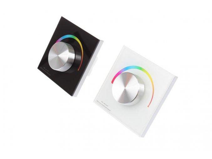Nástěnný Ovladač dimLED pro LED pásky RGB