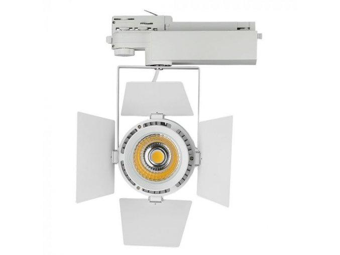 Bílý lištový LED reflektor 33W 3F