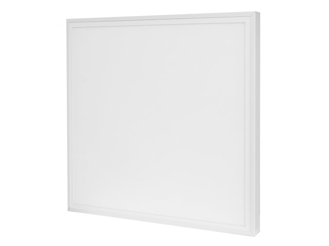 bily led panel 60x60 s rameckem