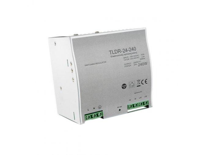 LED zdroj na DIN lištu 24V 240W