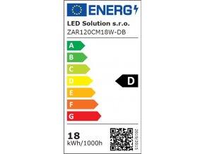 LED zářivka 120cm 18W mléčný kryt Premium (Barva světla Teplá bílá)