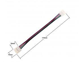 Spojka pro RGB LED pásek s kabelem