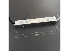 LED zdroj (trafo) 12V 30W IP67