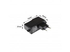 LED zásuvkový zdroj (trafo) 12V 12W