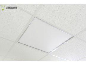 Stříbrný podhledový LED panel 600 x 600mm  40W stmívatelný