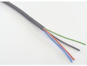 Kabel RGB čtyřžilový kulatý (průměr 4 x 0,5mm2)