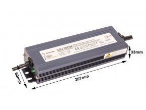 LED zdroj (trafo) 24V 150W IP67