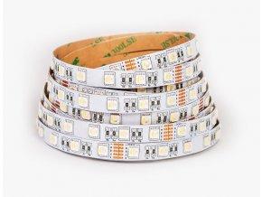 RGB LED pásek+teplá bílá 19,6W bez krytí 24V