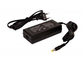 LED zásuvkový zdroj (trafo) 12V 72W