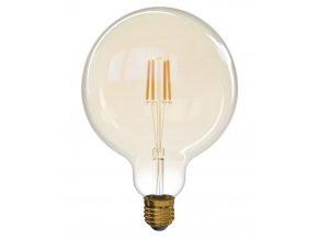 LED žárovka Filament 4W E27 kulatá