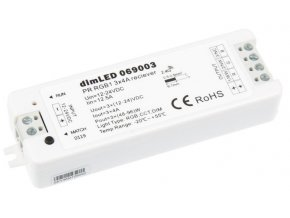 Přijímač dimLED RGB radiofrekvenční