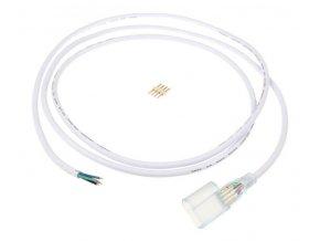 Přípojka LED pásku NEON RGB 2m