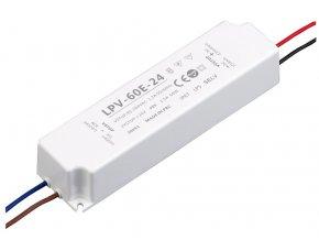LED zdroj (trafo) 24V 60W IP67