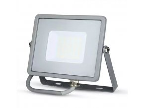 šedý led reflektor 30w premium