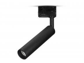 Černý lištový LED reflektor 7W 3F Premium