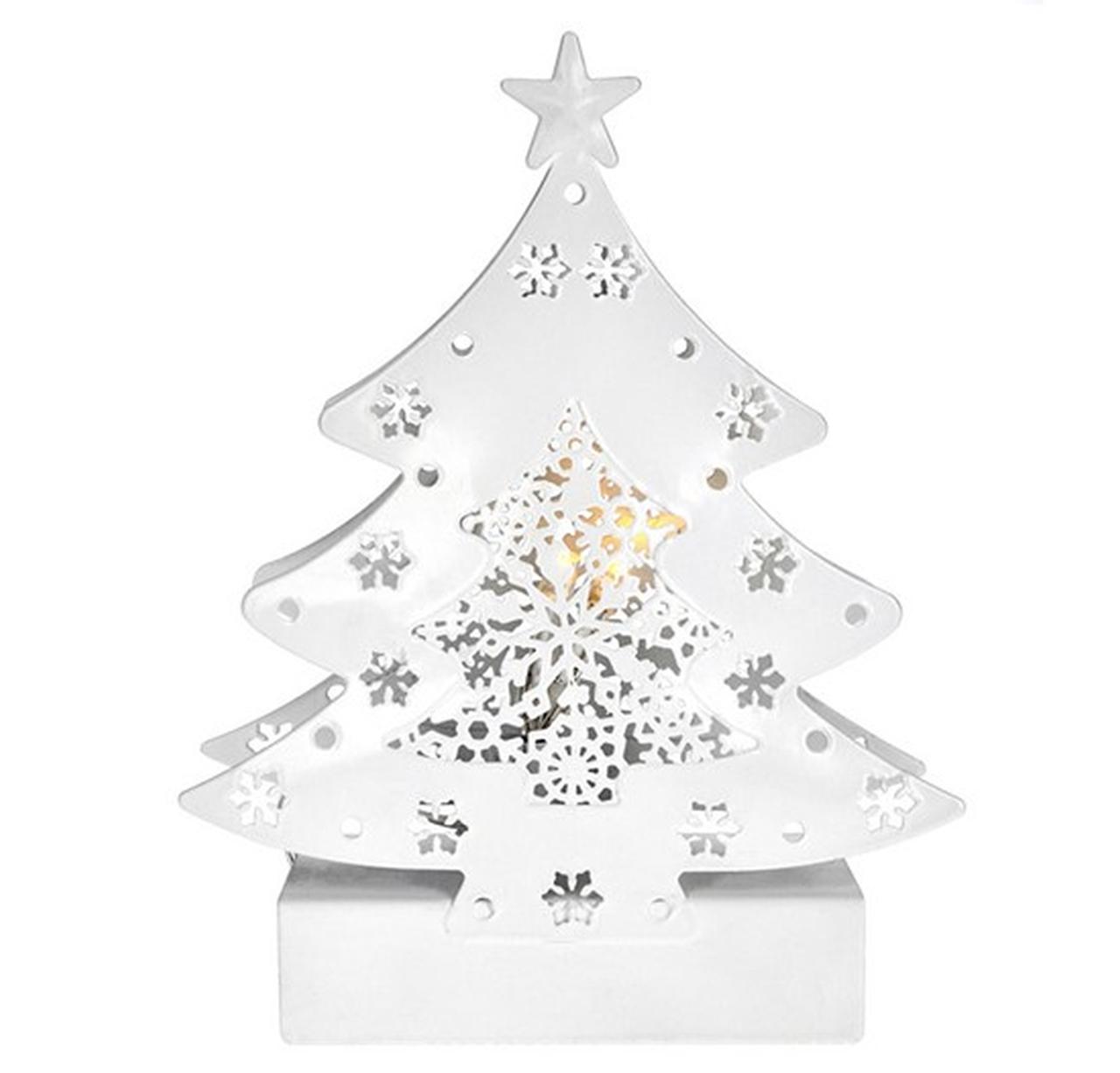 Solight LED kovový vánoční stromeček 1V218