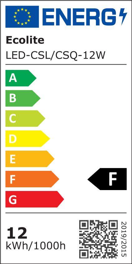T-LED Bílý přisazený LED panel kulatý 166mm 12W Barva světla: Denní bílá