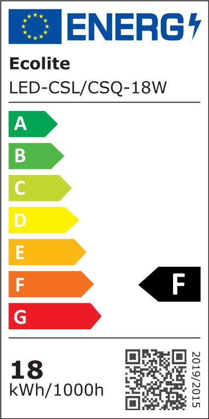 T-LED Bílý přisazený LED panel kulatý 220mm 18W Barva světla: Denní bílá