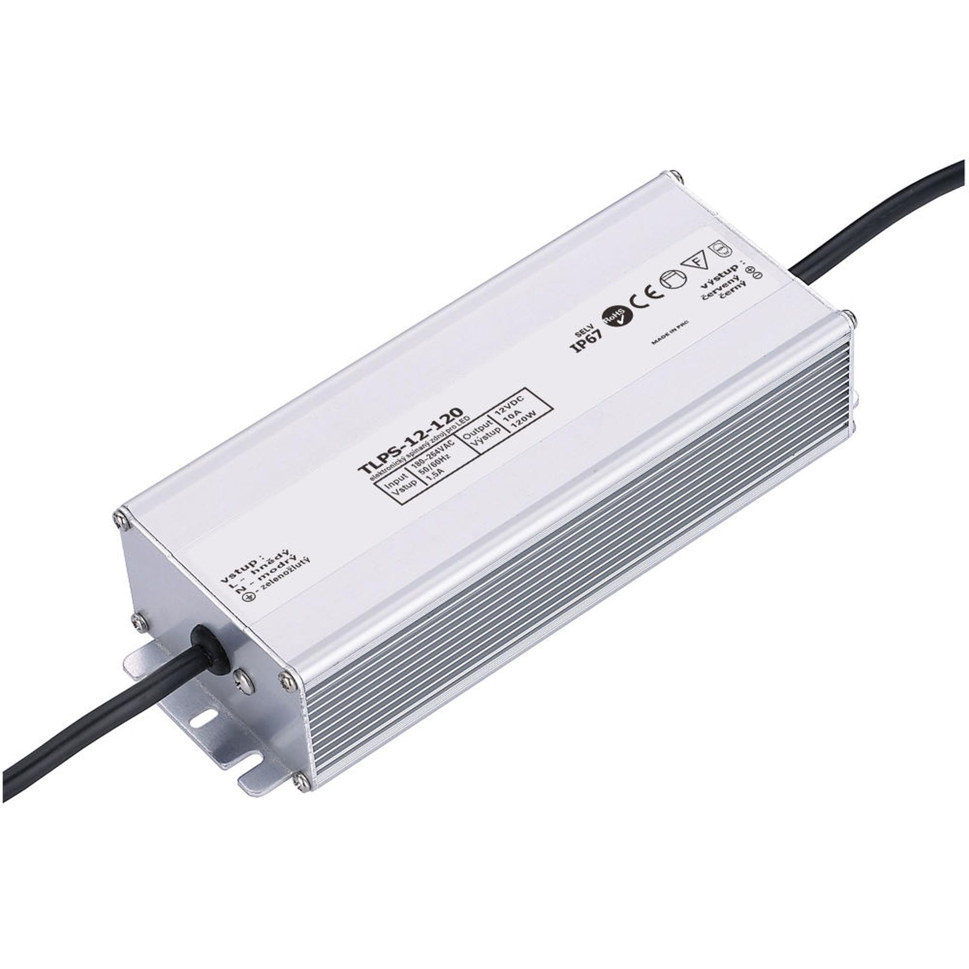 T-LED LED zdroj (trafo) 12V 120W IP67
