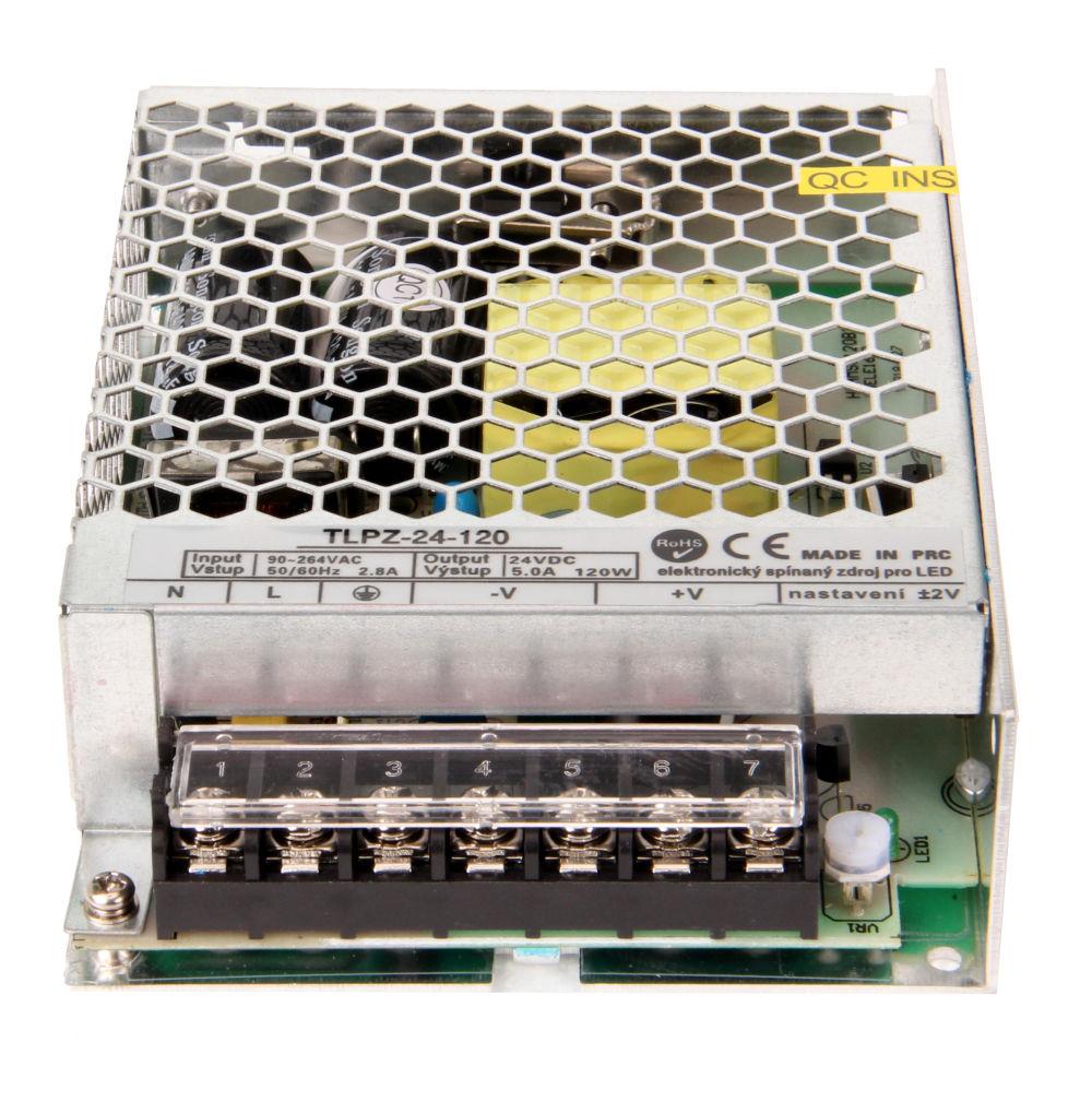 T-LED LED zdroj (trafo) 24V 120W - vnitřní