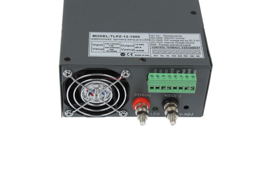T-LED LED zdroj (trafo) 12V 1000W - vnitřní