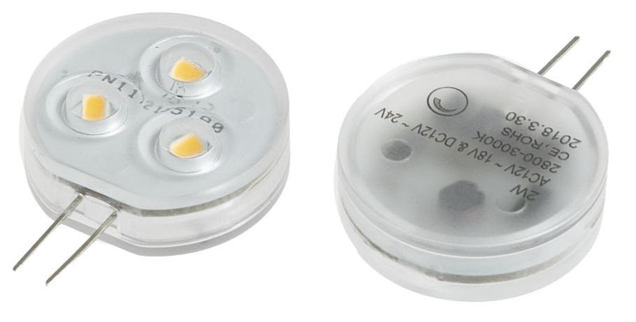 T-LED LED žárovka 2W G4 12-24V Barva světla: Denní bílá 04220