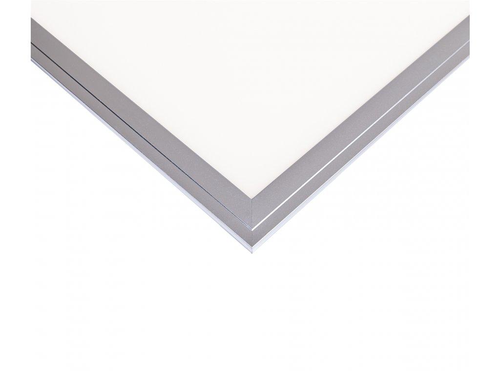 LED Solution Stříbrný podhledový LED panel 300 x 300mm 18W Premium Barva světla: Denní bílá
