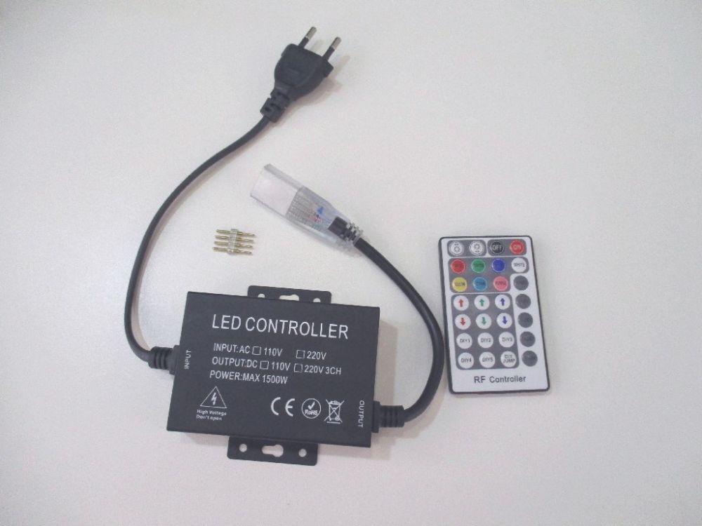 T-LED RGB Ovladač pro LED pásky 230V