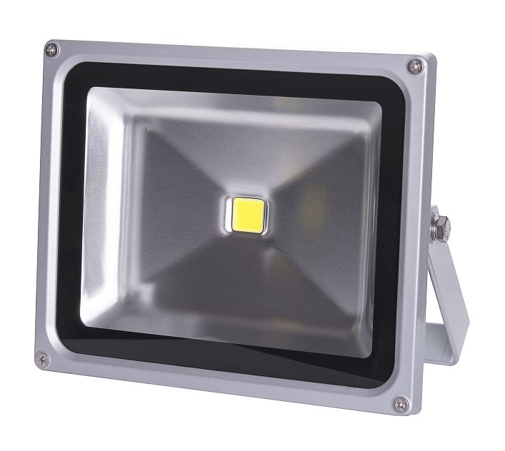 LED Solution Šedý LED reflektor 30W 12/24V 1015