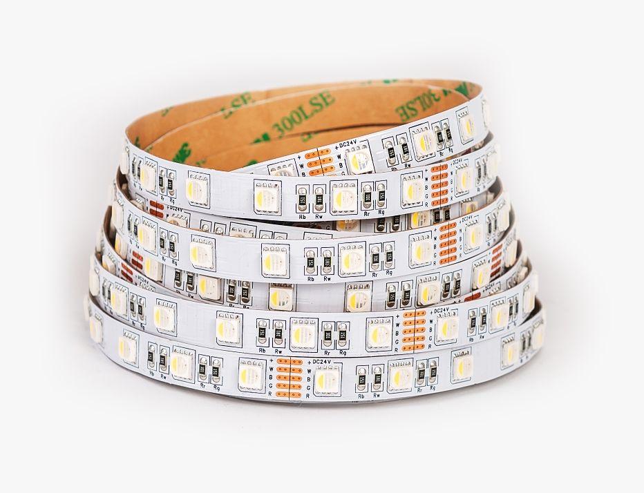 T-LED RGB LED pásek+teplá bílá 19,6W bez krytí 24V