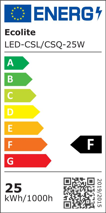 Ecolite Bílý přisazený LED panel kulatý 300mm 25W Barva světla: Denní bílá