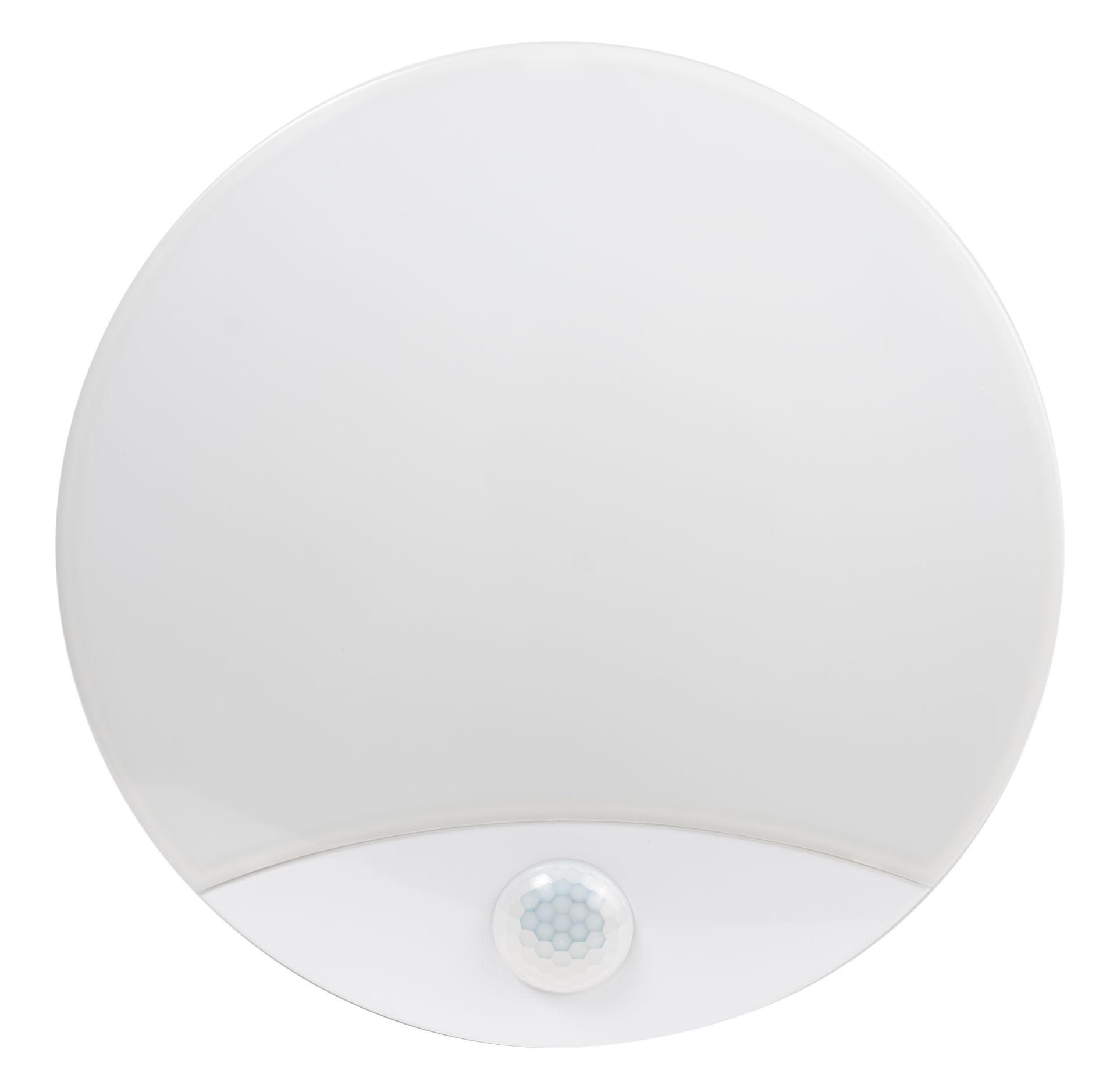 LED Solution LED stropní/nástěnné svítidlo 15W - nouzový modul + PIR čidlo